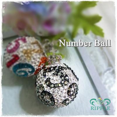 ユリシスドンネ・デコ(10色ナンバーボール)