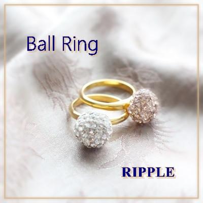 「RIPPLE~リプル~」体験レッスン・ボールリング完成品