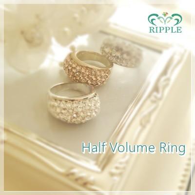 「RIPPLE~リプル~」体験レッスン・ハーフボリュームリング完成品